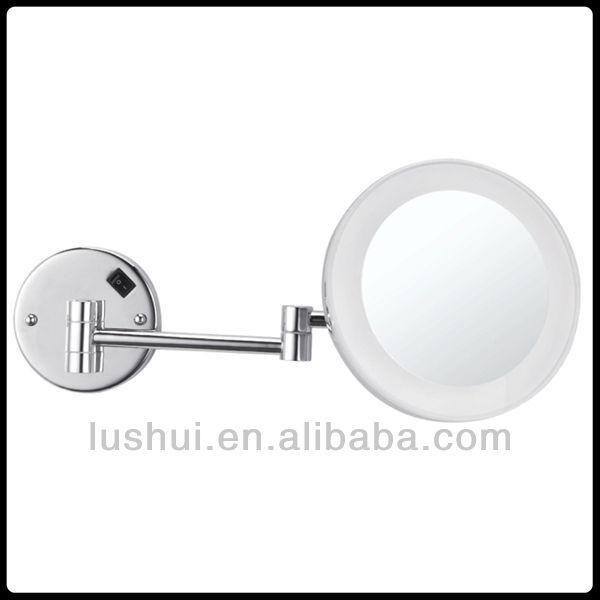 bathroom magnifying makeup magnifying bathroom rings neon light