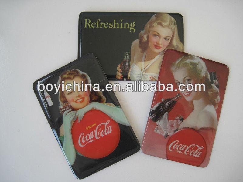 paper fridge magnet/rubber magnet/resin magnet