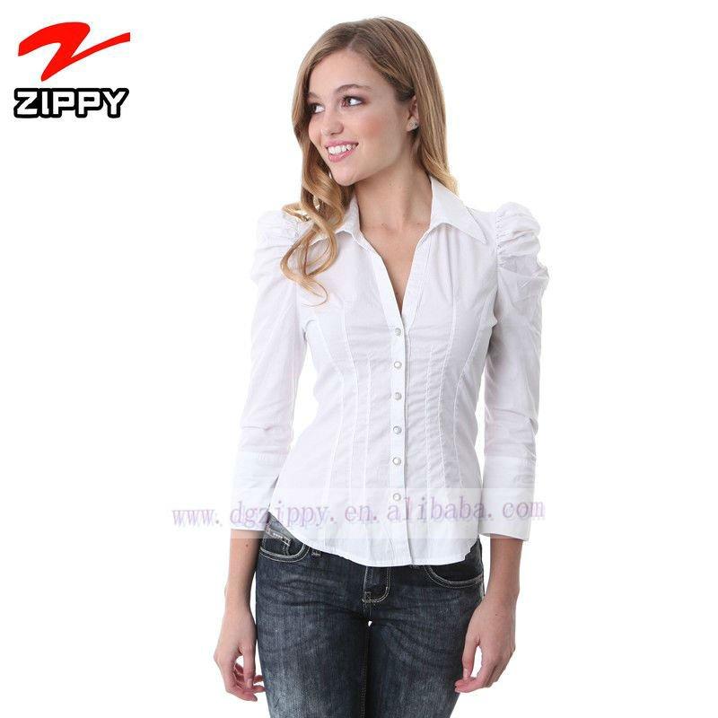 volante de moda camisas brazo diseño para damas-XL Camiseta ...