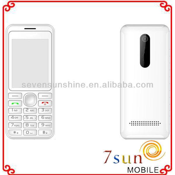 2.2 inch celular new slim mobile phone 206