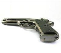 New Windproof lighter U.A.9 mm M9 Gun Shape Lighter Cigarette Lighter