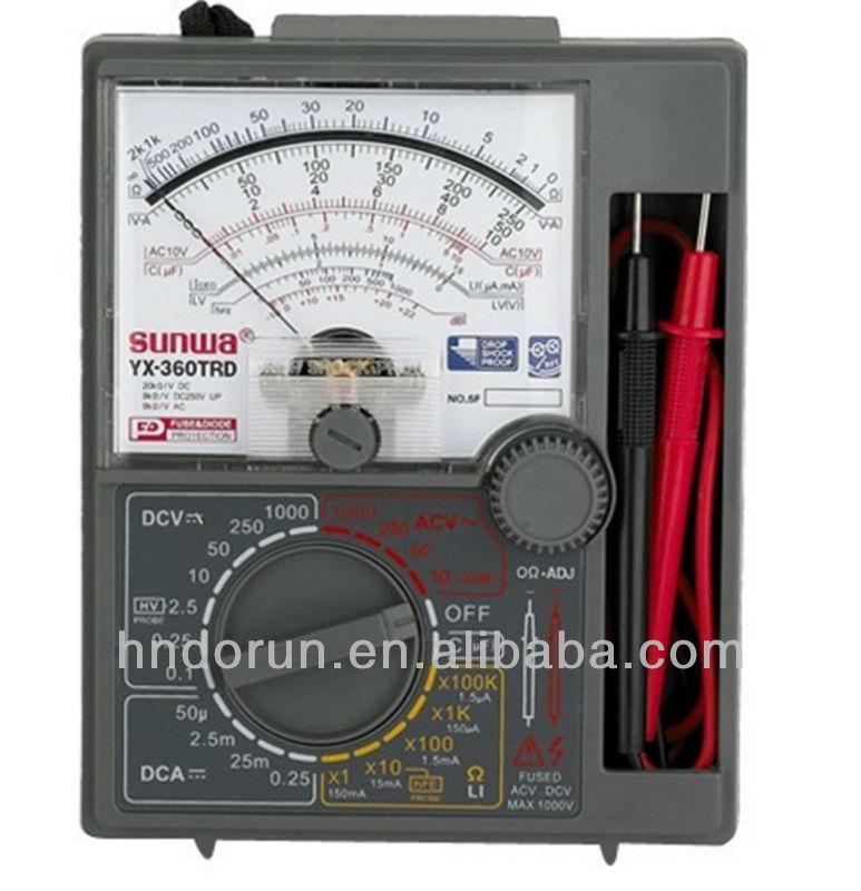 Мультиметр yx 360trn инструкция