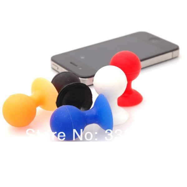 Rubber Octopus Sucker Ball Stand Holder for iPod Touch iPhone 4 4G(9).jpg