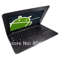 "Ноутбук 10"" Google Android 4.0 Cheap Laptop Computer 8850 cpu 512M/4GB with Wifi HDMI RJ45 Camera Mini Laptop Notebook"