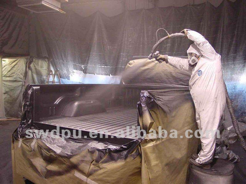 55gallon spray polyurea polyurethane rigid concrete pipe coating
