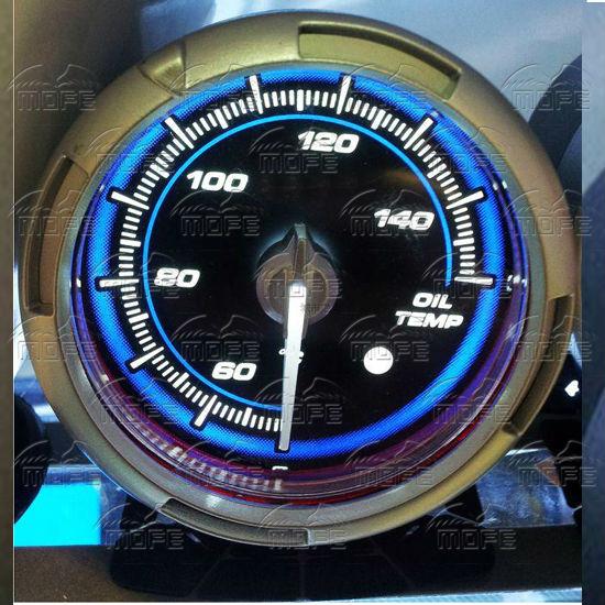 60MM Pink Blue LED Backlight Sensor + Stepping Motor Defi ADVANCE C2 Oil Temperature Temp Gauge Meter T2UeRgXB8XXXXXXXXX_!!326081344