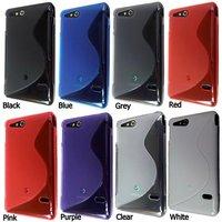 Чехол для для мобильных телефонов 10pcs/lot TPU S Line Wave Gel Case Cover for Sony ST27i Xperia Go
