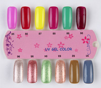 Гель для ногтей Fashion Nail Art Varnish 6pcs BK Nail UV Nail Gel Polish 168 Colors 10ml Nail Lacquer Glue