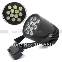 12W 12*1W LED Warm White Track Spot Light Ceiling Fixture Lamp for commodity exhibition, stores, the hotel AC 85V-265V 2954