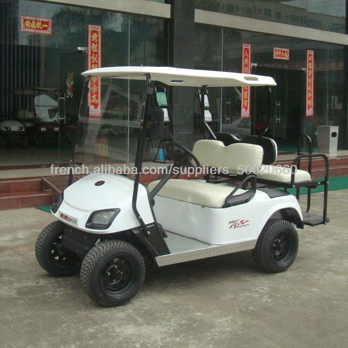 AX-B2 +2 OEM Hôtels 4 places voiturette de golf, 48V moteur à courant continu, des batteries sans entretien