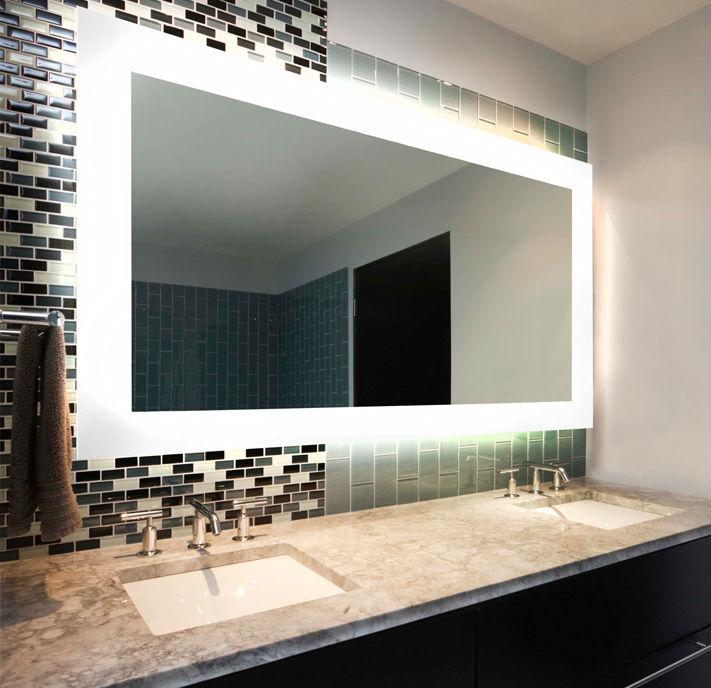 Xangai Do Banheiro Espelho Nevoeiro Free Led Espelho