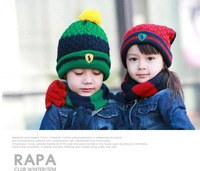 Шарф для мальчиков Korean version of the child spell color stripe scarf scarves wild temperament male and female baby fashion scarves collars