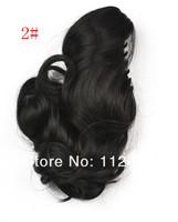 1шт коготь вьющихся волос расширение хвост кудрявый хвостик стиль 8 цветов, чтобы выбрать женщин в хвост волосы хорошего качества