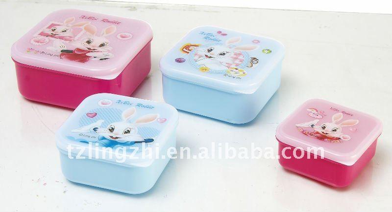 Cartoon children's lunch box