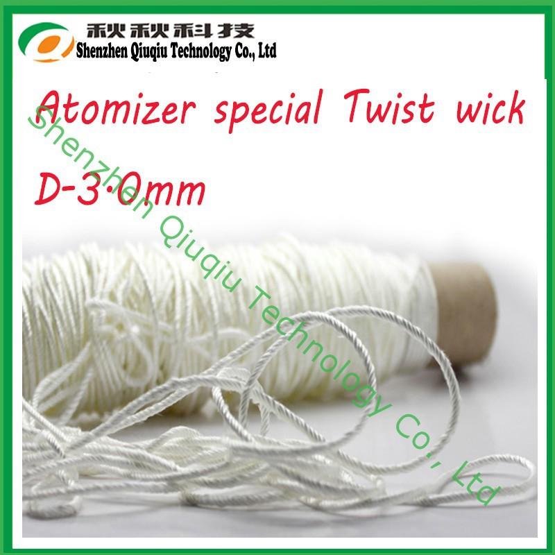 e/cig 3,0 , 5 twist silica wick 3.0mm