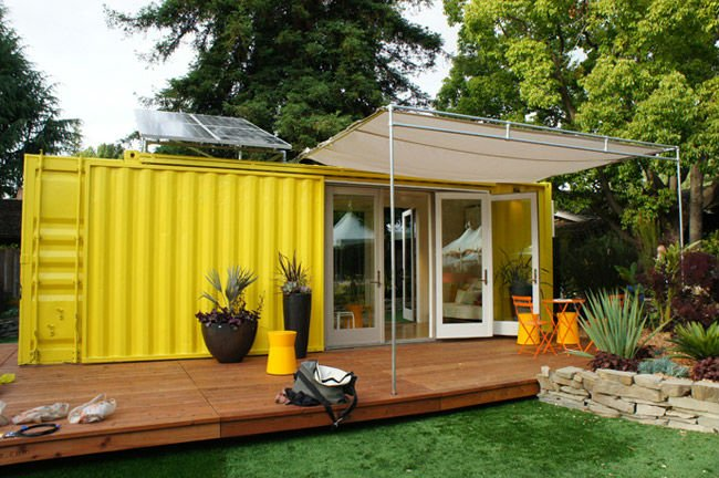 Environment Friendly Out Side Container house