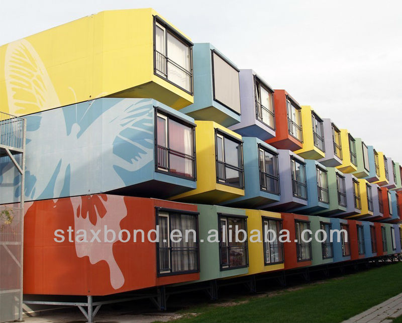 Stylish Prefab Container Hotel/ Dormitory