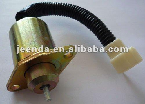 Fuel Shut Off Shutoff Solenoid 17594-60014 Kubota Yanmar Woodward 1503ES12A5UC5S
