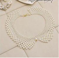 Колье-ошейник Fashion Style Charming Noble White/Black False Collar NecklaceCG2902