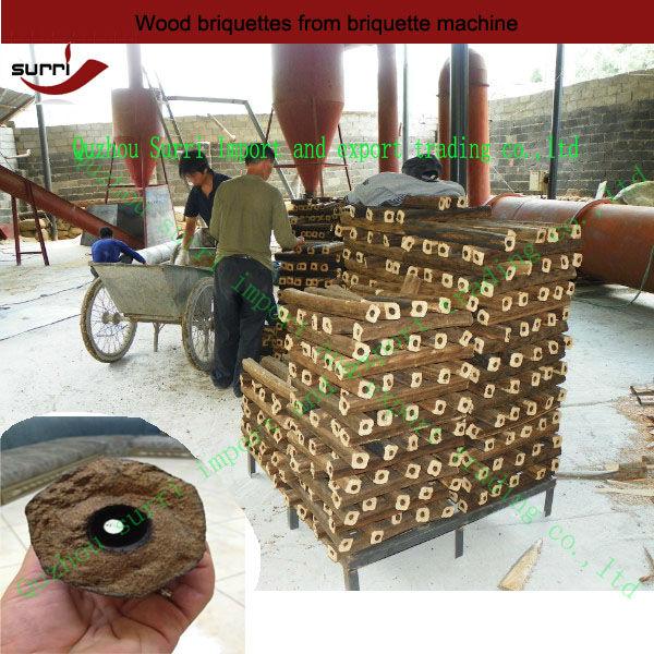 Surri Electric Wood Sawdust briquette machine/wood briquette machine/briquette machine