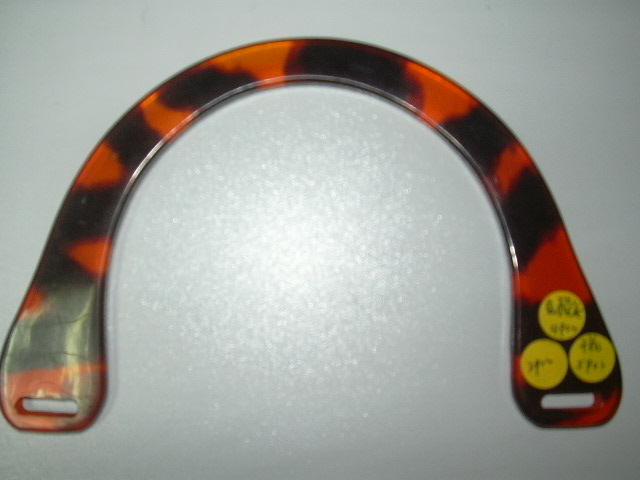 acrylic handbag handle