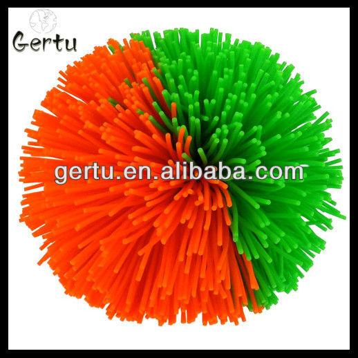 hairy rubber balls,spiky rubber balls