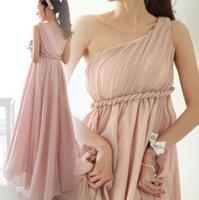 Вечернее платье 2013 European and American pressure oblique fold length dress evening dress