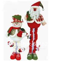 фабрика высокого качества внутренней отделки 100 см Рождество плюша кукла Санта-Клауса снеговик подарок