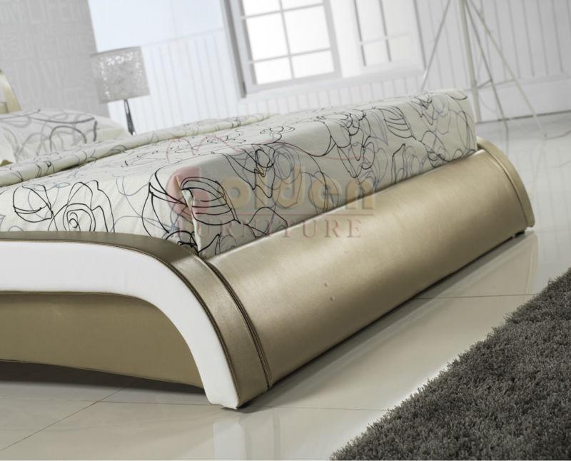 E2859 fancy king size platform bed latest bed designs for Latest bedroom designs 2015