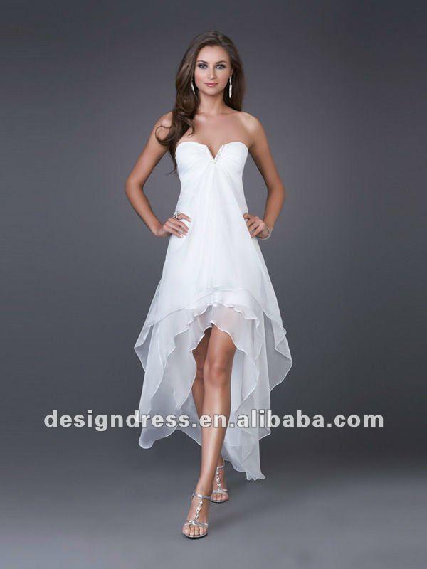Casamento Vestido De Noiva Curto Na Frente