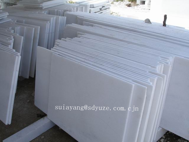 Chinese nice pure white marble