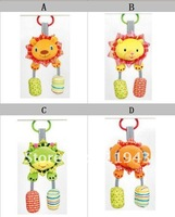 Sales promotion!free shipping via EMS,12pcs/lot, Bright Starts musical bed bell bed hang car bell car hang,4 designs for choose