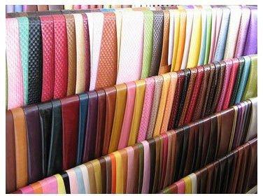 Mode foileded brillant m tallique pu cuir synth tique l011 - Cuero para tapizar ...