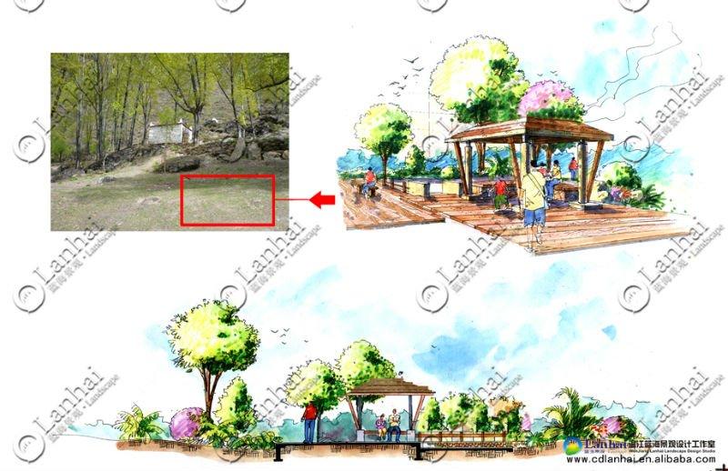 Landscape Architectural Sketches Sketching Design Landscape