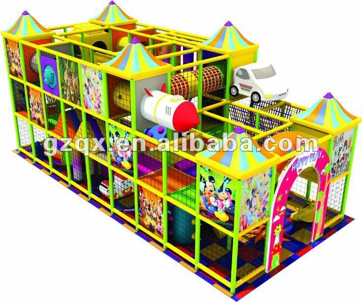 Fantastic indoor playground equipment,kids indoor playground,kids naughty castle, indoor play equipment QX-B2701
