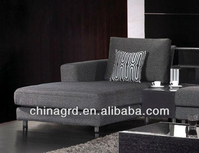 Style classique haut grade tissu canapé paresseux( em- 853)