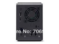 NEW Hot Sale Two-bit network storage NAS, RAID HDD Enclosure, Maximum support 6TB