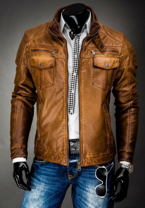 Vintage Leather Jackets For Men 35