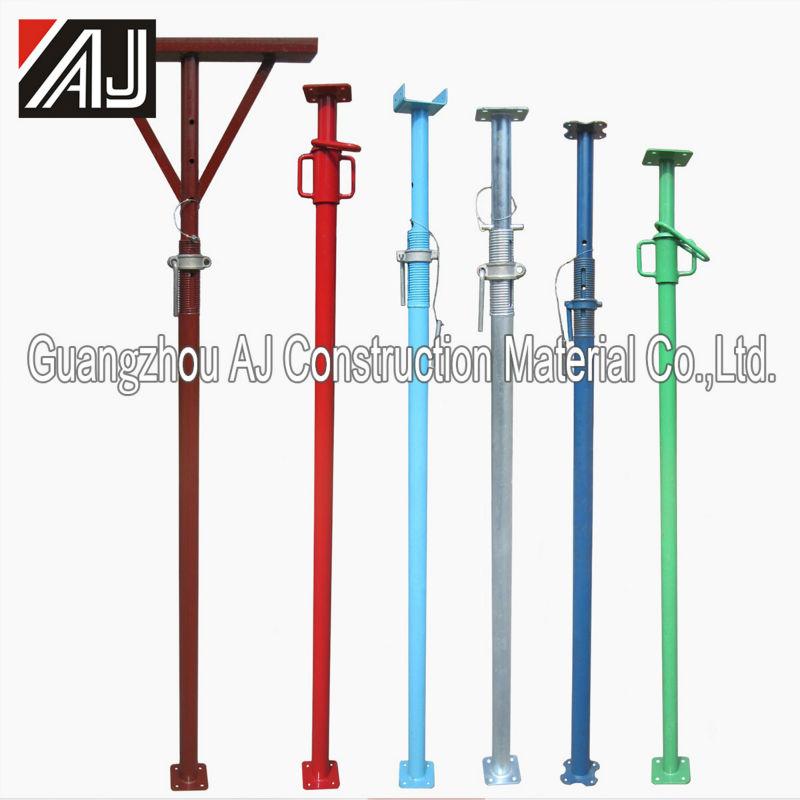 Adjustable Steel Post Shores : Adjustable shoring post prop