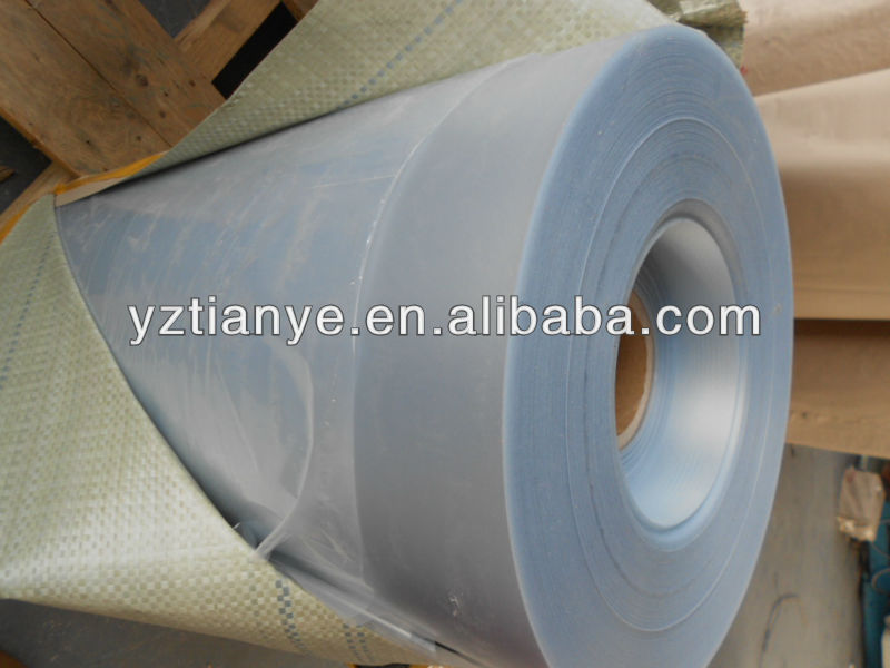 PVC colour plastic roll film for manufacturer