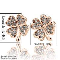 Ювелирный набор Holiday sale 18K gold plated crystal jewelry sets fashion rhinestone jewelry S5413