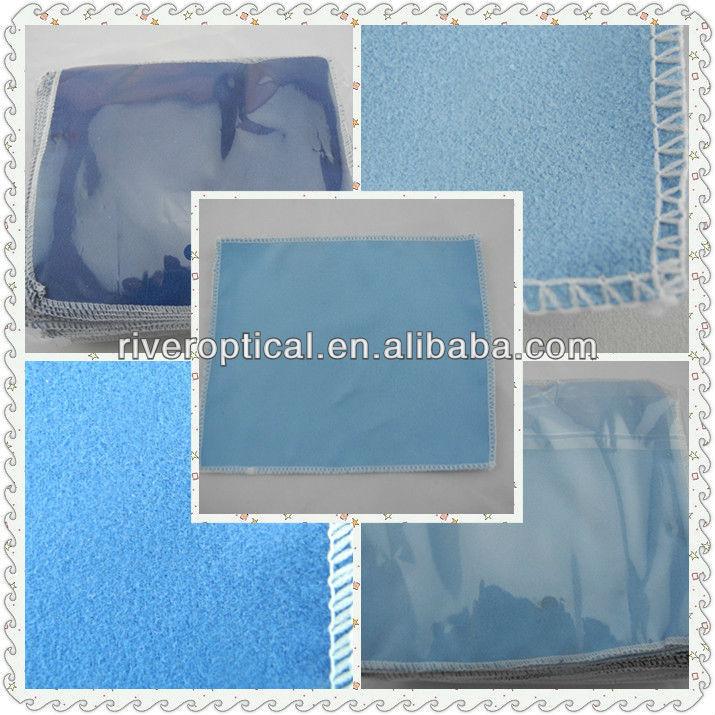 2013 китай горячее надувательство логотип настроить микро замша стекла тканью