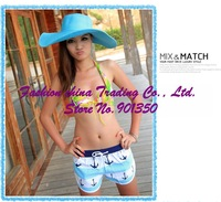 Женские пляжные шорты Mix Order 2012 Sexy Beach Wear Fashion Pants Lovers Swimwear Boxer board Shorts Cosy Casual Pants1024
