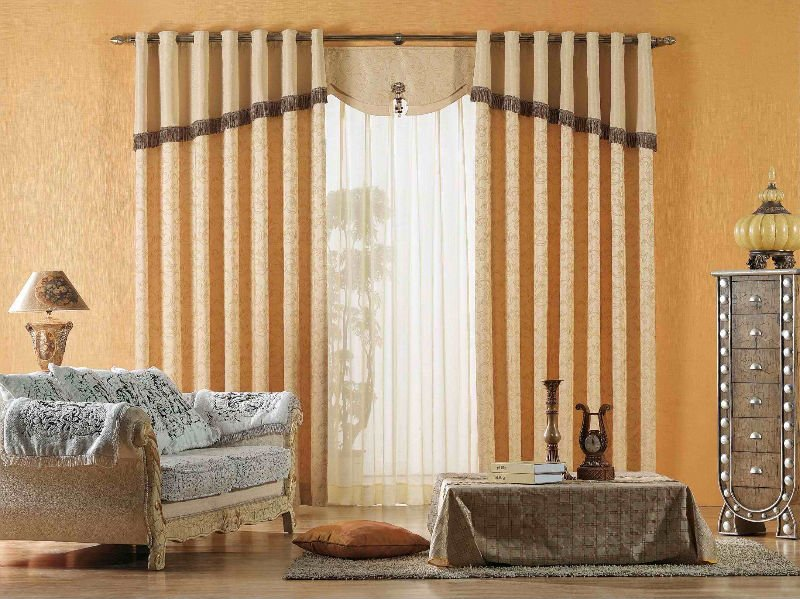 Beautiful home curtains