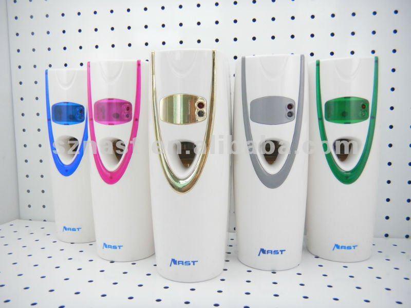 Toilet Spray Perfume Dispenser LED Aerosols Dispenser