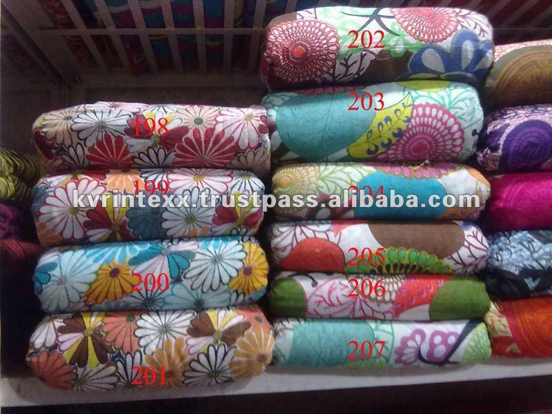 floral design print fabric