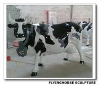 DS-025 Outdoor Fiberglass Flying Eagle Sculpture, Large Eagle Sculptures
