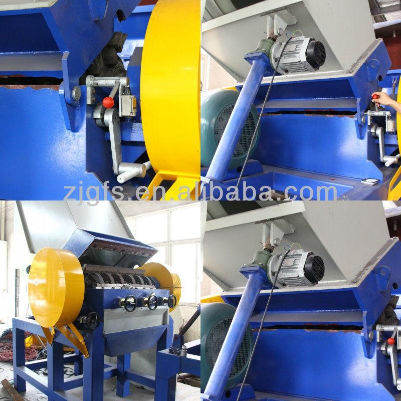 plastic film washing production