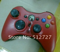 Free shipping for xbox360 wireless controller game pad for xbox 360 wireless  joystick  red