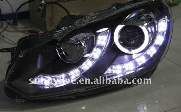für Volkswagen Golf 6 v2 engel auge led stirnlampe vk160 1 Jahr